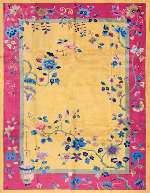 Chinese Art Deco Carpets Asian Area Rugs