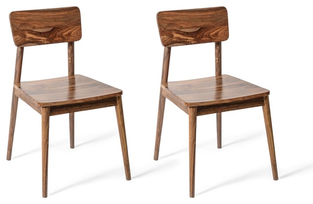 Lawson Wooden Dining Chairs, Set of 2