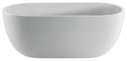"""Concord 67"""" Dual Acrylic Bathtub"""