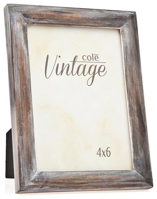 hermann distressed wood frame brown farmhouse picture frames - Distressed Wood Frames