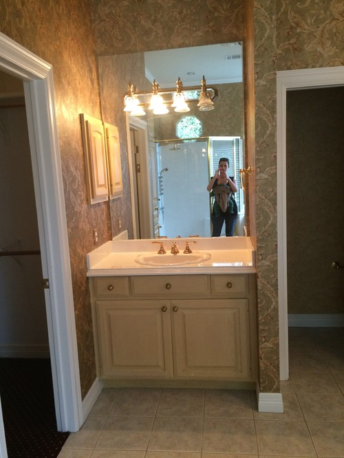 Vanity Mirror and Light Placement - Separate Units