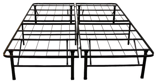 "Hercules Platform 14"" Heavy Duty Metal Bed Frame/Mattress Foundation, Queen"