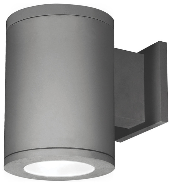 Tube Architectural 1 Light Wall Light, Graphite