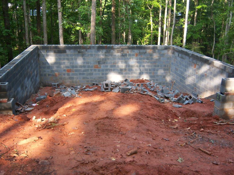 Disney Cottage Garage Construction
