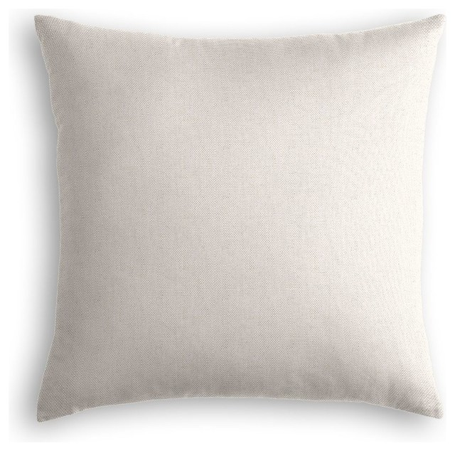 Light Gray Decorative Pillow : Loom Decor Light Gray Linen Throw Pillow - Decorative Pillows Houzz