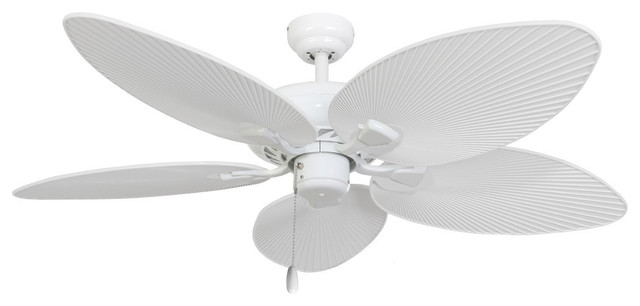 52 Quot St Simons White Indoor Ceiling Fan Tropical