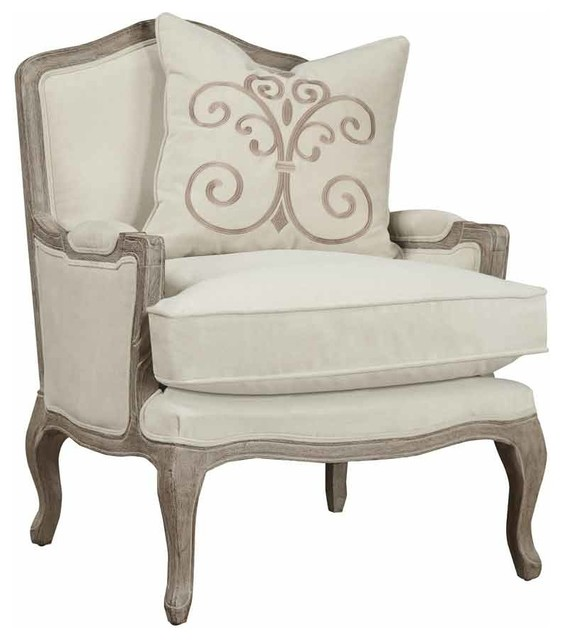Declan Accent Chair With Pillow