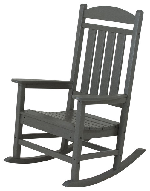 poly wood llc presidential rocker outdoor rocking chairs houzz