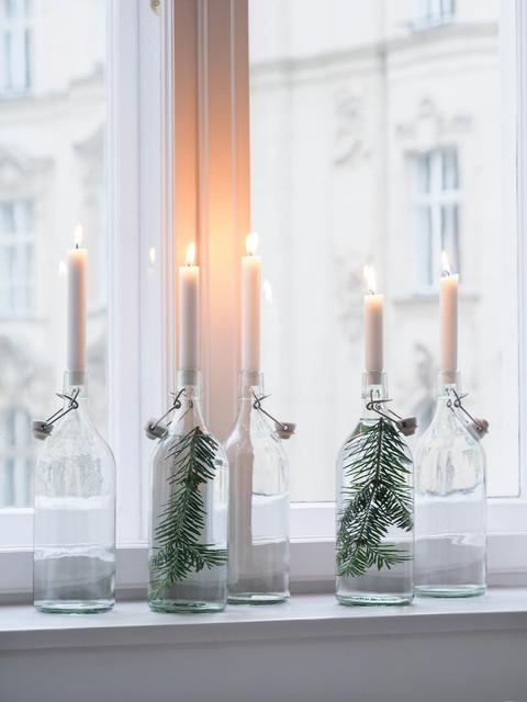 7 Ideen, wie Sie die Fensterbank weihnachtlich dekorieren