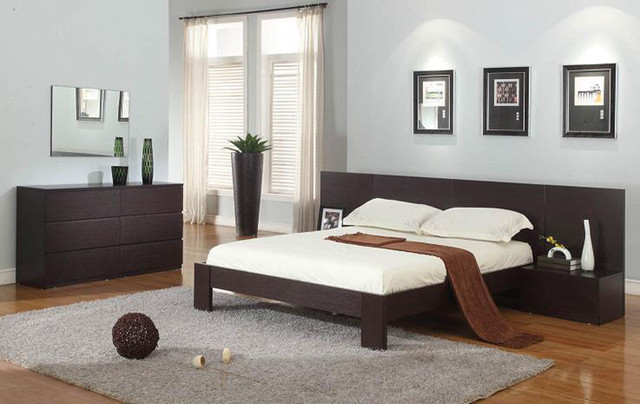 Bedroom Master Set Gami Moka Modern Brown Window Curtain