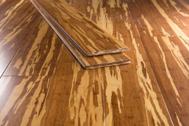 Tiger Strand Bamboo Flooring Traditional Bamboo Flooring By