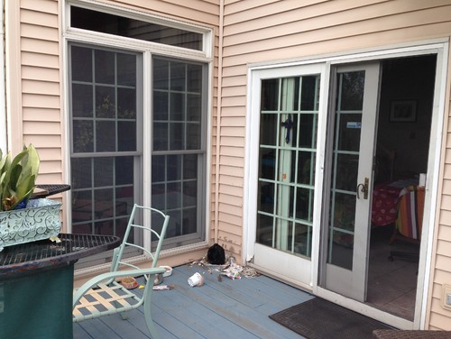 Sliding door vs french doors for Sliding glass doors that look like french doors