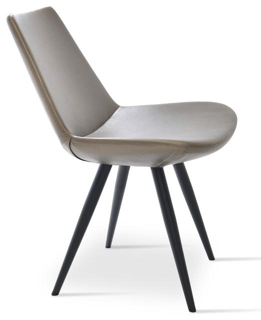 Eiffel Star Chair Black Powder Steel Bronze Gray Ppm Midcentury Dining Chairs By Novidesignhub