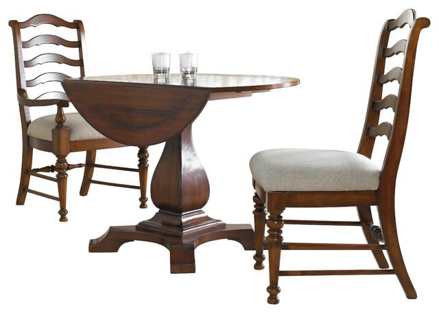 Hooker Furniture Waverly Place Round Drop Leaf Pedestal Table