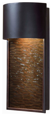 -Light fall 1-Light Dark Sky Lantern, Oil Rubbed Bronze Finish