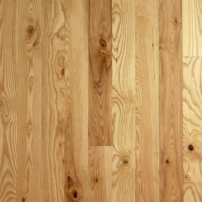 Unfinished Ash Natural Grade Traditional Hardwood Flooring