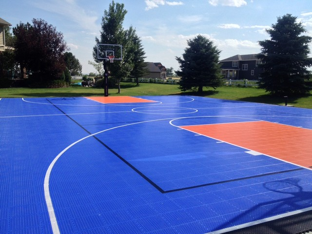 Snapsports montana home court par snapsports athletic for Residential sport court cost