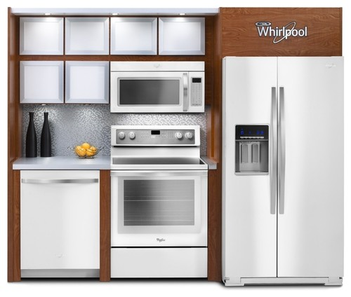 White Kitchen Appliances With Wood Cabinets white or stainless steel appliances?