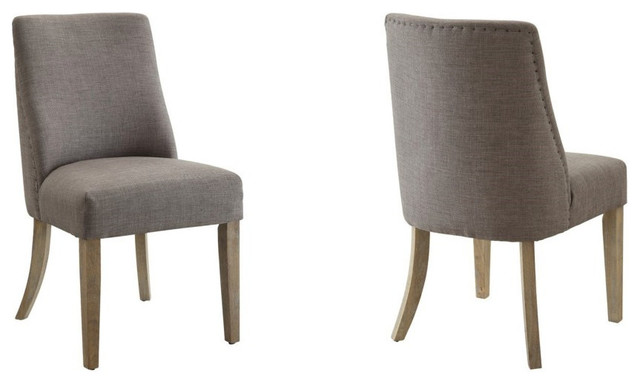 Coaster Fine Furniture - Upholstered Dining Chairs Barrel ...