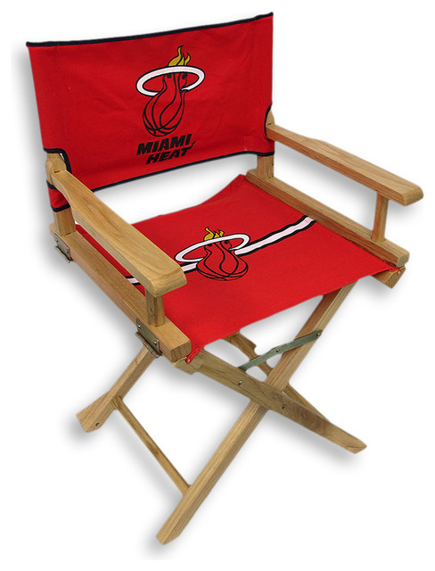 Miami Heat Junior Directoru0027s Chair Contemporary Kids Chairs