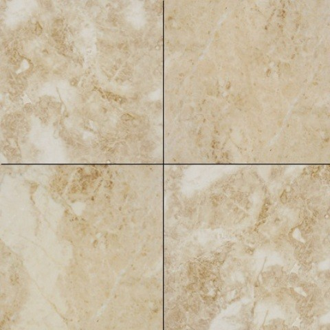 Polished Crema Cappuccino Marble Tile Traditional Wall And Floor