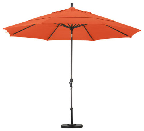 california umbrella 11 market patio umbrella royal blue