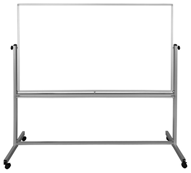 Luxor 72x48 Double-Sided Magnetic Whiteboard - 1 Pack.