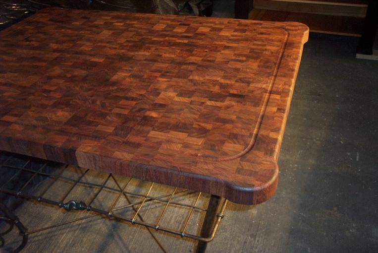 Mesquite End Grain Table top