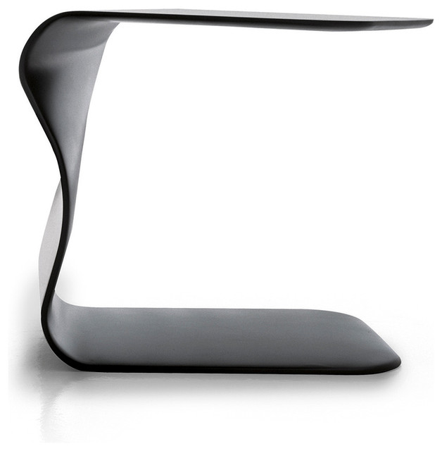 DUFFY Side Table, Anthracite Contemporary Side Tables And End Tables