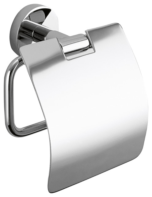 Wall Toilet Paper Holder dwba wall toilet paper holder with lid, tissue roll holder