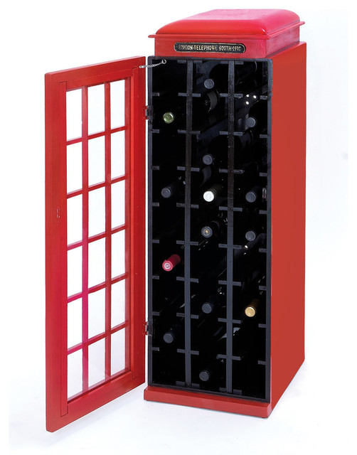 Wood Wine Cabinet - Contemporary - Wine And Bar Cabinets - by ...