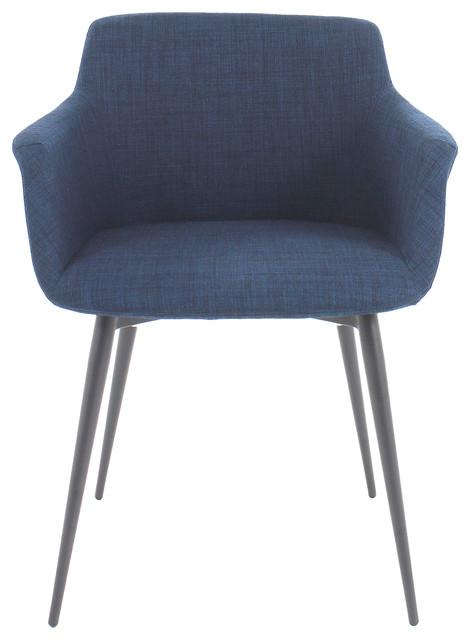 Ronda Arm Chair, Blue.