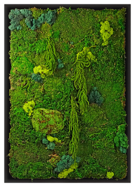 Moss Wall Garden Tropical Artificial Plants And Trees