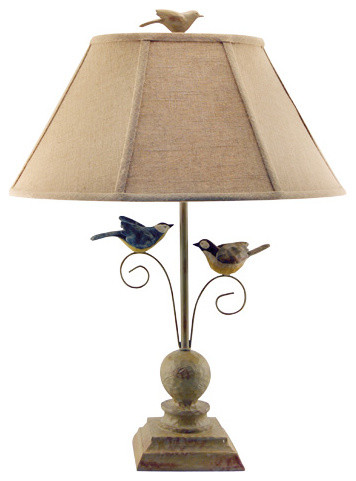 Bird Table Lamp.