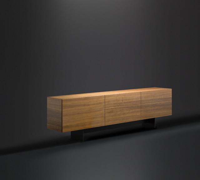 Design Sideboard - Highboard, maßgefertigt in Nuss I bespoke ...