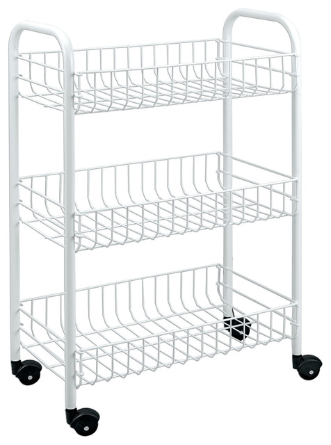 Patented Rolling Cart Contemporary Utility Carts By