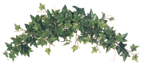 Silk Plants Direct Sage Ivy Swag, Pack Of 6.