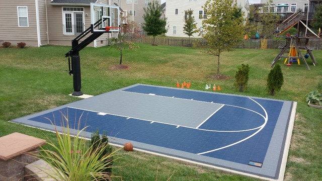 Clay A S Pro Dunk Diamond Basketball System On A 26x26 In