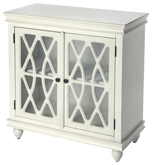 Masterpiece Accent Cabinet, White