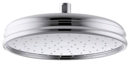 "Kohler 10"" Round 2.5 GPM Rainhead, Polished Chrome"
