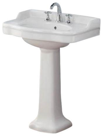 Antique Pedestal Sink Transitional