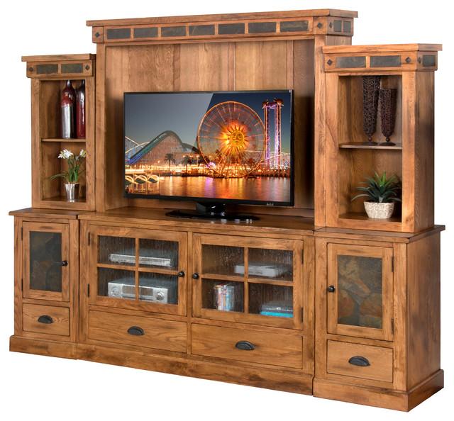 Sunny Designs Inc Sedona Entertainment Wall With Tv