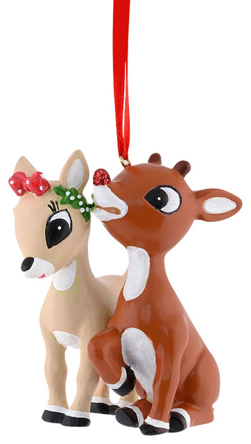 Department 56 Rudolph The Red Nosed Reindeer And Clarice