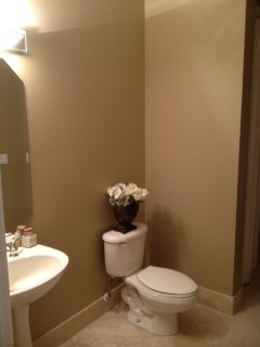 I Am Contemplating Putting In A New Vanity Unless Can Somehow Make This Pedestal Sink Work The Floors Are Marble Walls Lenox Tan Any Ideas