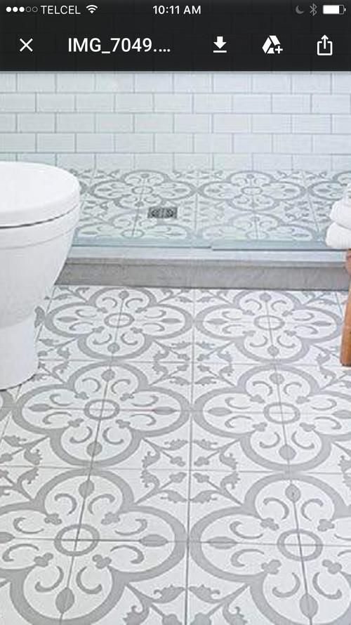 ... Muchas Ganas De Poner Un Piso De Baldosa De Cerámica Como El Que  Adjunto. Cómo Lo Ven? Qué Otro Piso Podría Poner En Mi Cocina? Los Muebles  Son Blancos.