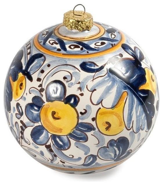 deruta italian christmas ornament