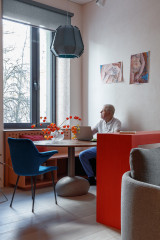 Houzz тур: Яркие апартаменты почти без стен