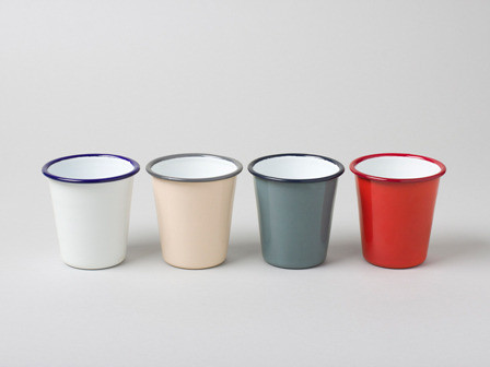 Enamelware {Houzz Ideabook} from addapinch.com
