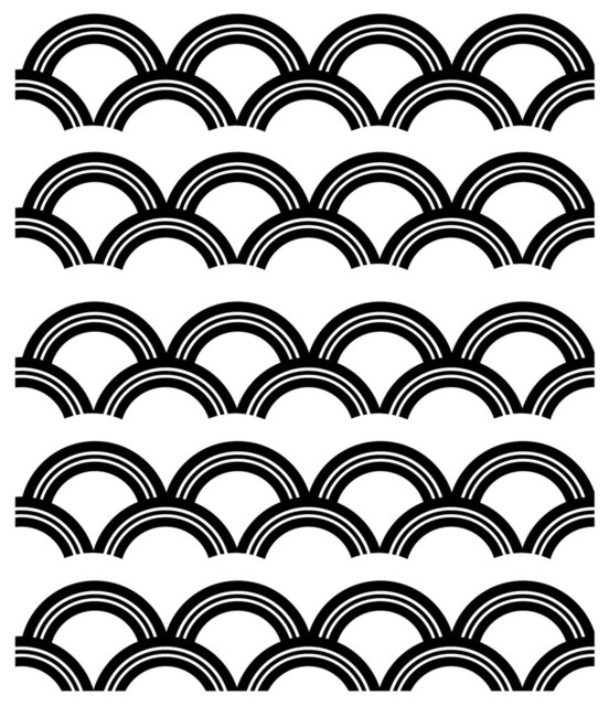 Art Deco Pattern Wall Decal Contemporary Wall Decals