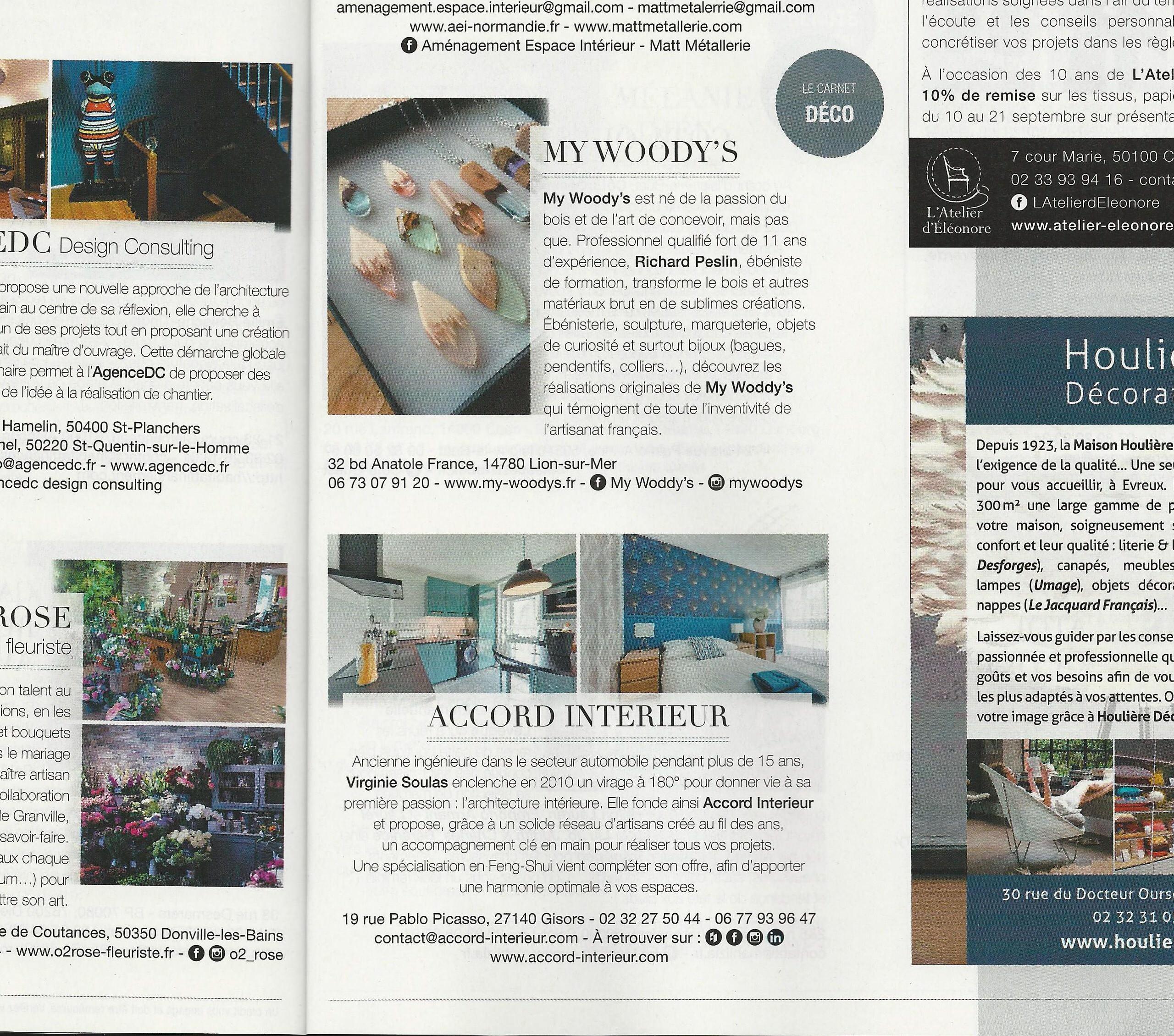 Parution magazine ELLE